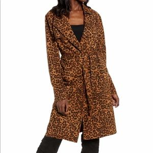 NWT. Blank NYC On the Prowl leopard jacket